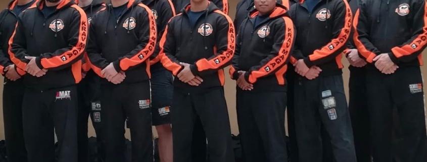 HSW team met nieuwe hoodies